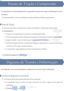 Propriedades mecânicas relacionadas a deformação e a tensão