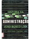 Livro história da administração- João bosco