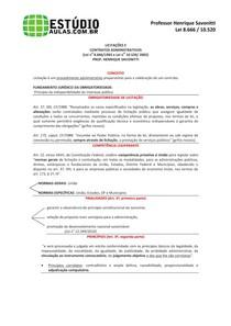PDF 001 - Lei nº 8 666 - Lei nº 10 520