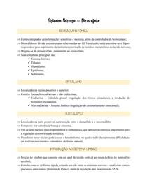 Fisiologia Diencéfalo