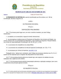 Código Processual Penal