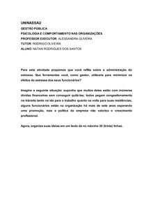 AOL6 PSICOLOGIA ATIVIDADE CONTEXTUALIZADA