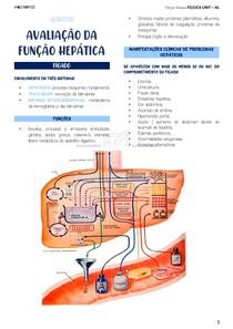 FUNÇÃO HEPÁTICA - LABORATORIAIS