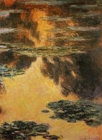 Water Lilies18-Claude Monet