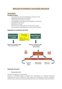 Patologias de pigmentos e calcificações patológicas