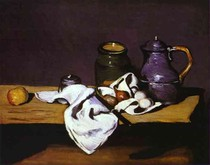 Paul Paul Cézanne - Still Life with a Kettle