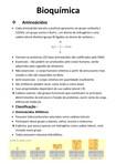 Bioquímica - RESUMO AMINOÁCIDOS