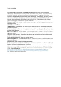 FERIDA ONCOLÓGICA