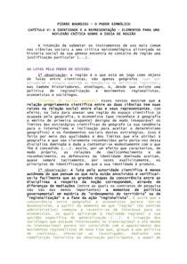 RESUMO Pierre Bourdieu   A identidade e a representação