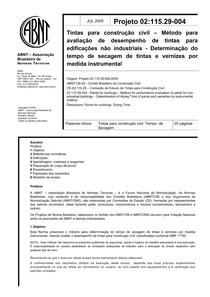 ABNT 02-115 29-004 2005 - Tintas para construção civil - Det