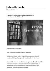 [Pensar Criminalista]_ Indicação de leitura_ Monitoramento Prisional