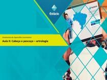 Articulações cabeça e pescoço prof Ricardo Cordeiro 2018.1