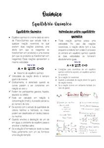 PDF QUÍMICA - EQUILÍBRIO QUÍMICO