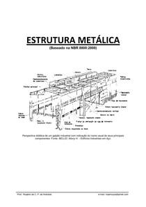 Apostila de Estrutura Metálica