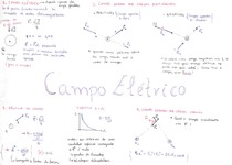 [FÍSICA] Resumo_Campo Elétrico