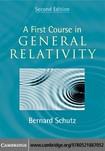 Bernard Schutz A First Course in General Relativity  2009