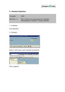 03 - OX09 - Atualizar Depósitos