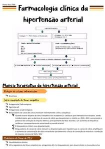 Farmacologia clínica da hipertensão arterial