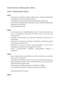 PESSOA NATURAL E PERSONALIDADE JURÍDICA