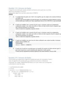 APOL1 - ESTRUTURA DE DADOS - NOTA 100