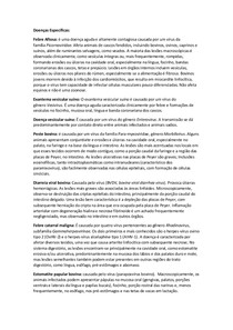 Doenças Específicas Patologia