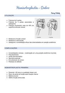 Hemiartroplasia Ombro