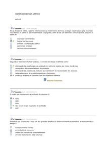 HISTÓRIA DO DESIGN GRÁFICO - COMPLETÃO 2014.2