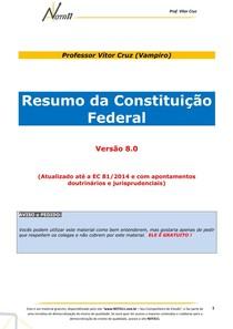 Resumo_Constituicao_8.0 Nota11 19.06.2014