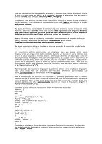 Consolidado de Linguagem da Programação