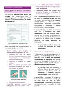Resumo - Avaliação Clínica e Protocolo Terapêutico para Artrite Reumatoide