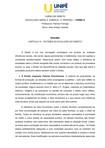 EVOLUÇÃO DO DIREITO - SOCIOLOGIA JURÍDICA - RESUMO CAPÍTULO IV