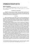 Fundamentos de Psicologia Analítica - Jung (Conferência 4)