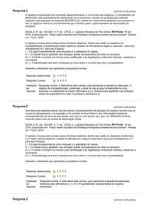 ATIVIDADE 2 - LOGISTICA REVERSA