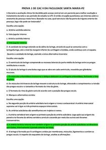 PROVA 1 DE CAC 2- MEDICINA-FSM-P2