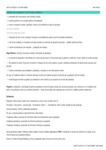 GENÉTICA DE POPULAÇÕES - A LEI DE HARDY WEINBERG