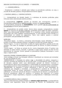 RESUMO DE INTRODUÇÃO AO DIREITO   4º BIMESTRE