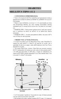 DIABETES MELLITUS TIPO 1 E 2