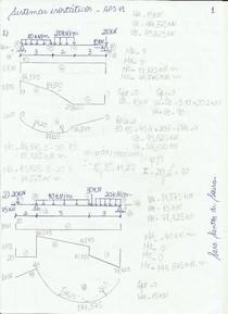APS 1 Sistemas Isostáticos