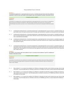 ESAB ADM (Prova presencial  Responsabilidade Social e Ambiental)