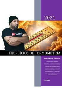 Exercícios de Termometria