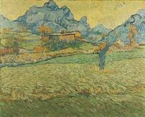 Vincent Willem van Gogh  - A Meadow in the Mountains Le Mas de Saint Paul