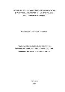 TRABALHO DE CONTABILIDADE
