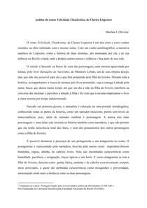 Análise Felicidade Clandestina - Sthefani Oliveira