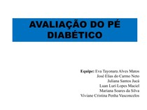 av. pé diabético apresentação