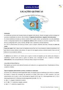 Ligações Químicas (Prof Brasil)