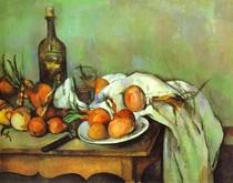 Paul Paul Cézanne - Still Life with Onions