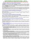Questionário de Psicopatologia - Dalgalarrondo Cap-14