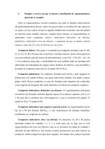Organometálicos - química de coordenação