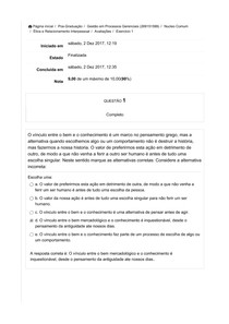 Exercício1   Ética e Relacionamento Interpessoal2