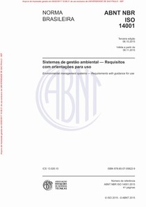 ABNT NBR ISO14001